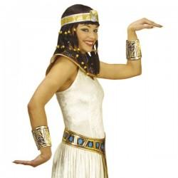 Cuello y brazaletes de egipcia - Imagen 1
