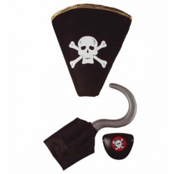 Set de complementos pirata - Imagen 1