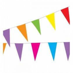 Guirnalda de papel multicolor - Imagen 1