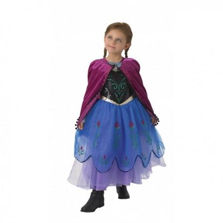Disfraz de Anna Frozen Premium para niña - Imagen 1
