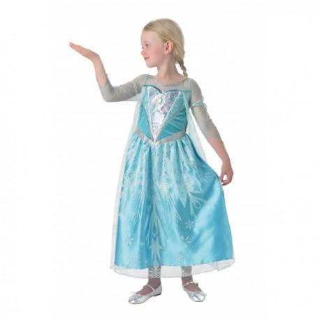 Disfraz de Elsa Frozen Premium para niña - Imagen 1