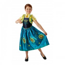 Disfraz de Anna Frozen Fever para niña - Imagen 1