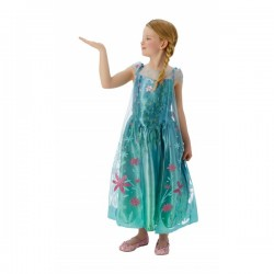 Disfraz de Elsa Frozen Fever para niña - Imagen 1