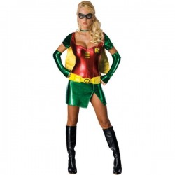 Disfraz de Super Heroina Sexy Robin - Imagen 1