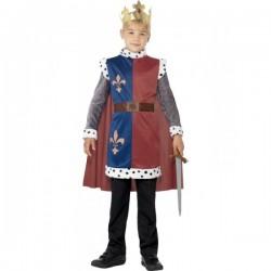 Disfraz de rey Arturo para niño - Imagen 1