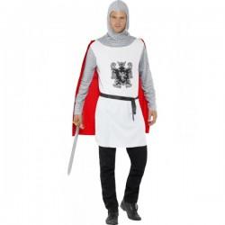 Disfraz de caballero medieval classic para hombre - Imagen 1