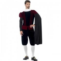 Disfraz de tudor el rey para hombre - Imagen 1