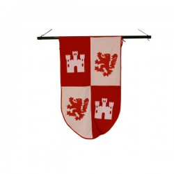 Estandarte medieval Cid de guerra - Imagen 1