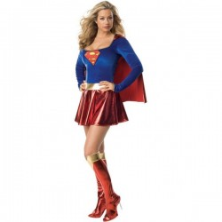Disfraz de Supergirl sexy hero - Imagen 1
