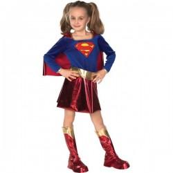 Disfraz de Supergirl niña Deluxe - Imagen 1