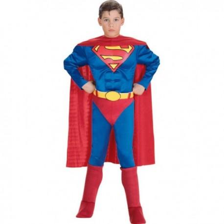 Disfraz de Superman musculoso niño - Imagen 1