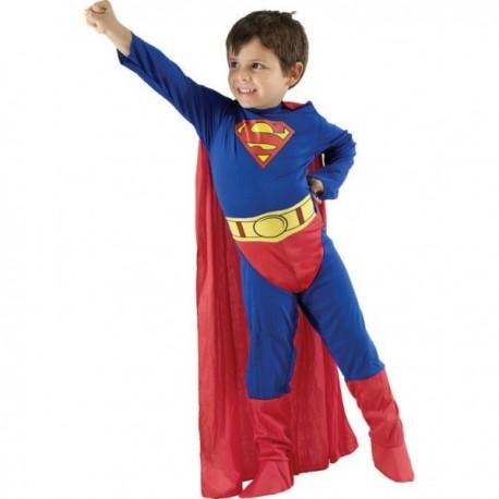Disfraz de Superman superhéroe niño - Imagen 1