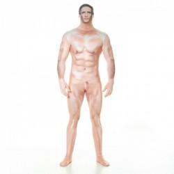 Disfraz de hombre sexy censurado Morphsuit - Imagen 1