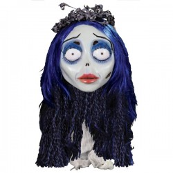 Máscara Emily de La Novia Cadáver de látex - Imagen 1