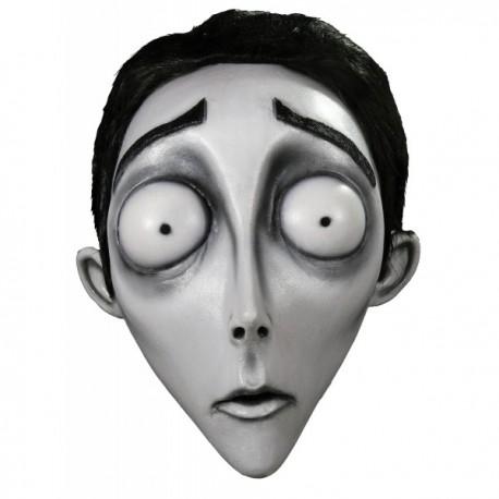 Máscara Víctor de La Novia Cadáver de látex - Imagen 1