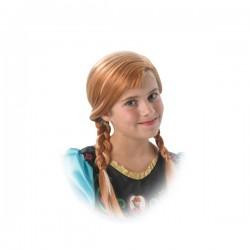 Peluca de Anna Frozen para niña - Imagen 1