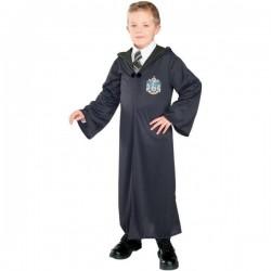 Disfraz de Harry Potter túnica Casa Slytherin niño - Imagen 1