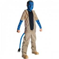 Disfraz de Jake Sully Avatar niño - Imagen 1