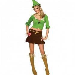 Disfraz de Mujer Espantapájaros Mago do Oz - Imagen 1