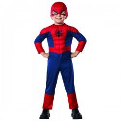 Disfraz de Ultimate Spiderman deluxe para bebé - Imagen 1