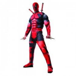 Disfraz de Deadpool deluxe Marvel para hombre - Imagen 1