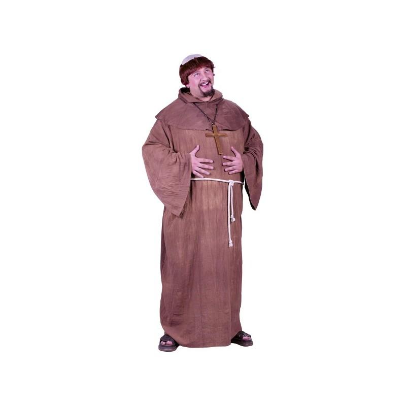 Disfraz De Monje Medieval Para Hombre Talla Grande Comprar Online
