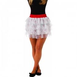 Falda con lentejuelas de Harley Quinn para adolescente - Imagen 1