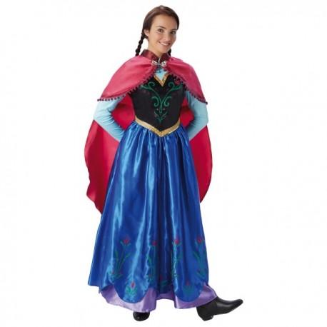Disfraz de Anna Frozen para mujer - Imagen 1