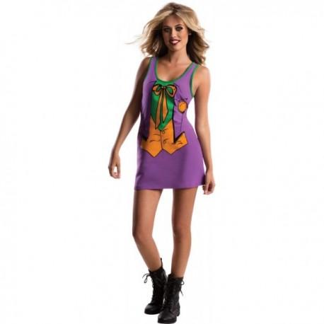 Vestido disfraz del Joker DC Comics para adolescente - Imagen 1