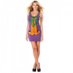 Vestido disfraz del Joker DC Comics para mujer - Imagen 1