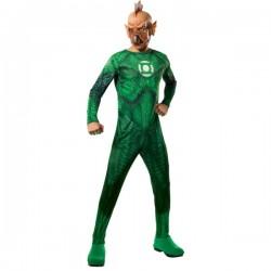 Disfraz de Tomar Re Linterna verde para hombre - Imagen 1