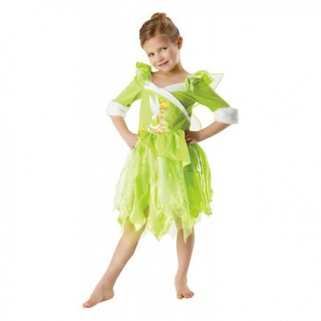 Disfraz de Campanilla winter para niña - Imagen 1