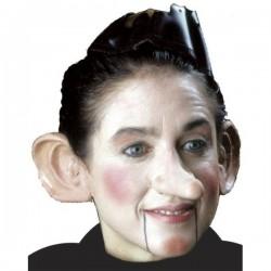 Nariz de Pinocho muñeco de madera de látex - Imagen 1
