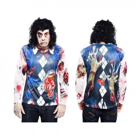 Camiseta de zombie boy para hombre - Imagen 1