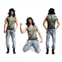 Camiseta de guerrillero herido para hombre - Imagen 1