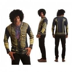 Camiseta de guitarrista Hendrix para hombre - Imagen 1