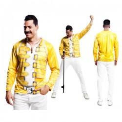 Camiseta de cantante Mercury Queen para hombre - Imagen 1