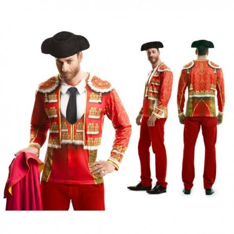 Camiseta torero tradicional para hombre - Imagen 1