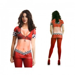 Camiseta piloto de carreras F1 para mujer - Imagen 1