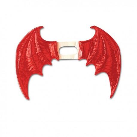 Maxi alas de color rojo para mujer - Imagen 1