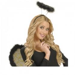 Aureola negra perfecta para mujer - Imagen 1