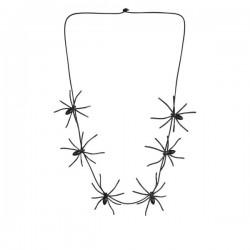 Collar con arañas para mujer - Imagen 1