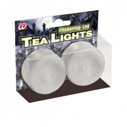 Velas circulares con luz led - Imagen 1