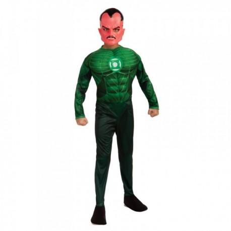 Disfraz de Siniestro musculoso Linterna Verde niño - Imagen 1