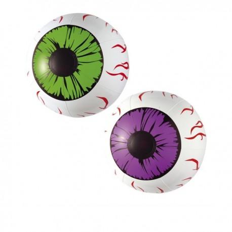 Ojos gigantes y sangrantes - Imagen 1