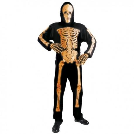 Esqueleto de color neón para hombre - Imagen 1
