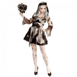 Disfraz de novia de la muerte zombie para mujer - Imagen 1