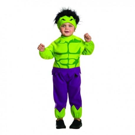 Disfraz de Hulk Marvel para niño - Imagen 1