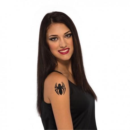 Tatuaje Spidergirl Marvel para niña - Imagen 1