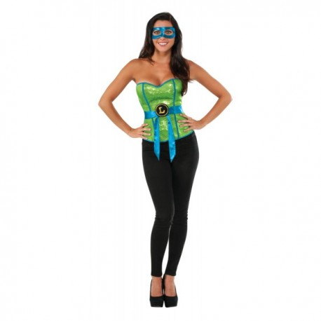 Corsé de Leonardo Las Tortugas Ninja para mujer - Imagen 1